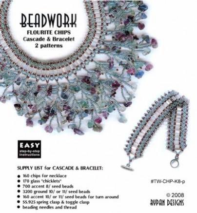 Twig Chip Cascade & Bracelet – 2 patterns