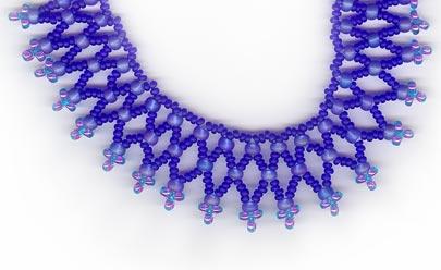 Textured Net - Royal